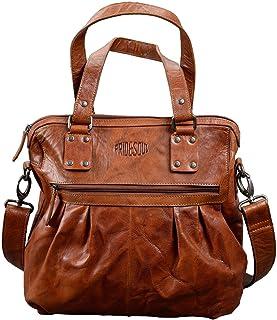 Pride and Soul Lady's Bag Holly Sporttasche, 35 cm, 9 L, Cognac