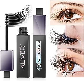 4D Silk Fiber Lash Mascara, Waterproof Mascara 180 Degree Flexible Brush Curling Lashes,Natural Thick Thickening and Lengthening Mascara, Long Lasting Charming Eye Makeup