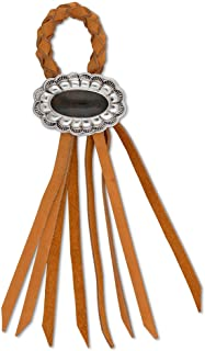 Vagabond House Concho Leather Napkin Ring 2.5 Inches Wide / 9.5 Inches Long (1 piece)