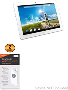 Screen Protector for Acer Iconia Tab 10 A3-A20 (Screen Protector by BoxWave) - ClearTouch Anti-Glare (2-Pack), Anti-Fingerprint Matte Film Skin for Acer Iconia Tab 10 A3-A20