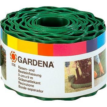 Gardena 536-20 - Cercadillo para Césped, Verde, 9 cm x 9 m (Ancho ...