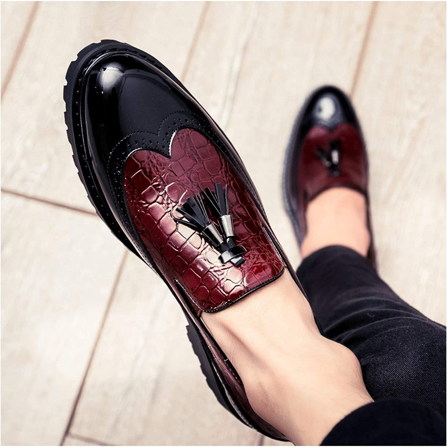 FJ-Direct 2019 Men Casual shoes Breathable Leather Loafers Office shoes for Men Driving Moccasins Comfortable Slip on Fashion shoes MA-23