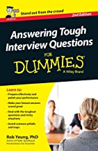 Answering Tough Interview Questions For Dummies - UK