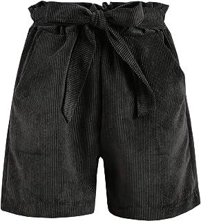 9159dc60fef5 SOLADA Pantaloncini di Velluto a Coste Donna