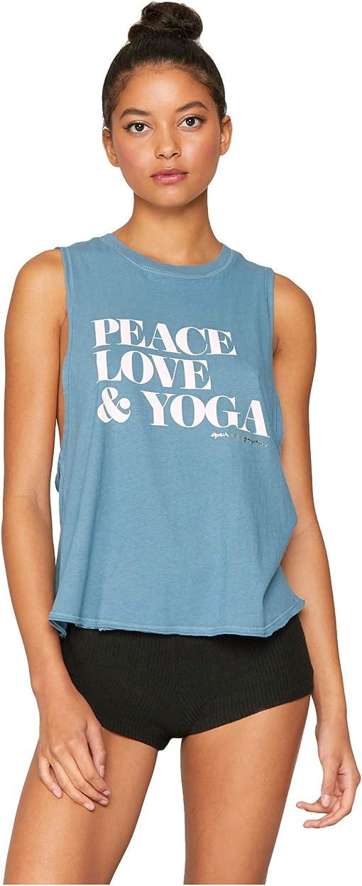 Peace/Aqua Sea
