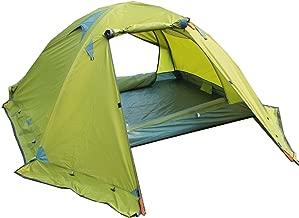 BaiYouDa Backpacking Tent,4 Season Waterproof Tent,2 Person Ultralight Tent Aluminum Rod Windproof Waterproof for Camping Hiking Travel Climbing - Easy Set Up