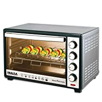 Inalsa Oven MasterChef 30SSRC OTG (30 Liters) with Motorised Rotisserie and Convection, 1600W, 4 Stage Heat Selection, Stainless-Steel Finish (Silver)