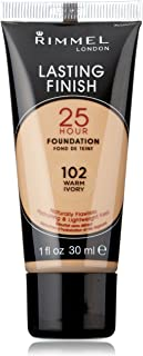 Rimmel Lasting Finish 25 Hour Liquid Foundation Warm Ivory