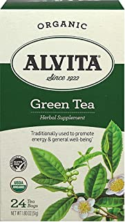Alvita Organic Green Tea, 24 Bag, Pack of 3
