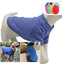 Lovelonglong 2019 Dog Pullover Sweatshirt Autumn Winter Cold Weather Dog T-Shirts for Small Medium Large Size Dogs 100% Cotton Made