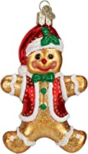 Old World Christmas Ornaments: Gingerbread Boy Glass Blown Ornaments for Christmas Tree