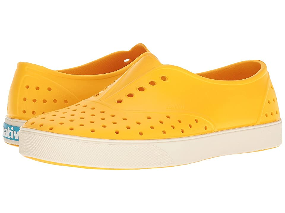 Native Shoes Miller (Groovy Yellow/Bone White) Slip on Shoes