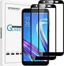(2 Pack) Orzero Tempered Glass Screen Protector Compatible for ASUS ZenFone Live L1 ZA550KL, 2.5D Arc Edges 9 Hardness HD Anti-Scratch Anti-Fingerprint (Lifetime Replacement)