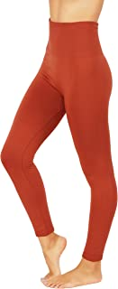 Fit Division Women`s Pants Buttery Soft Fleece Leggings High Waist Winter Thermal