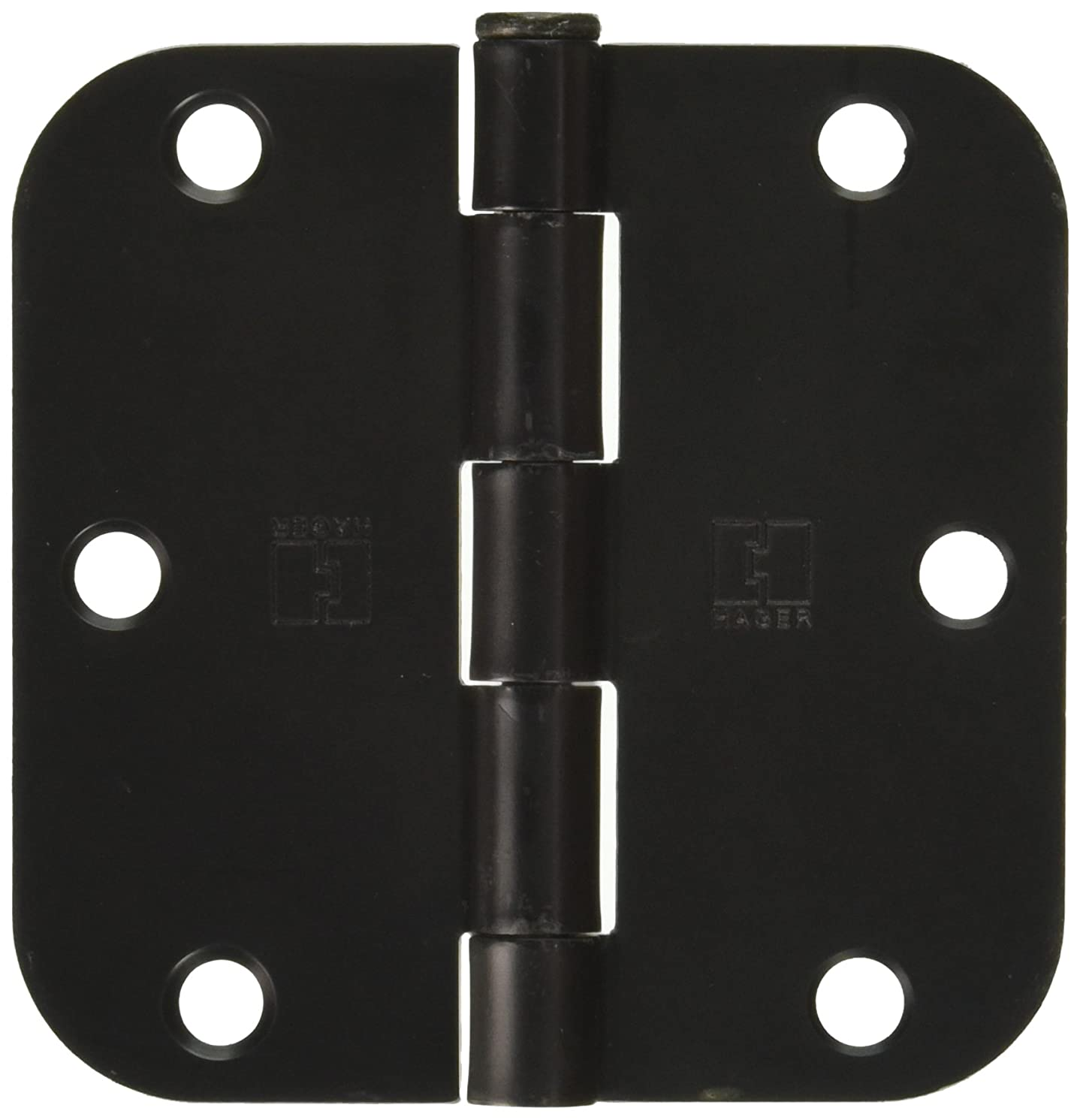 (Pack of 30) Hager 3 1/2 Inch Oil Rubbed Bronze Door Hinges with 5/8