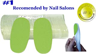 IBI Disposable Green Foot File Replacement Pad 100pcs with 2 FREE Handles