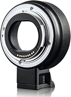 EF-EOS M Lens Mount Adapter Autofocus Lens Converter Control Ring Compatible with EF/EF-S Series Lens and EOS-M Cameras M2...