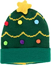 DM Merchandising Cozy Cuties Kid's Holiday Christmas Winter Knitted Hat