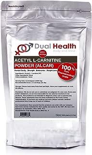 Pure Acetyl L-Carnitine (ALCAR) Powder (1 kilogram (2.2 lbs)) Bulk Supplements