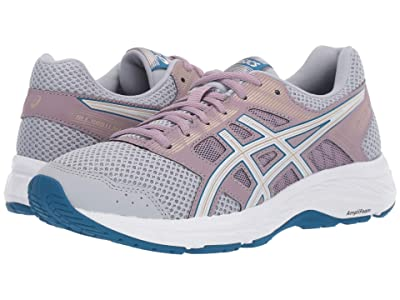 ASICS GEL-Contend(r) 5 (Peidmont Grey/White) Women