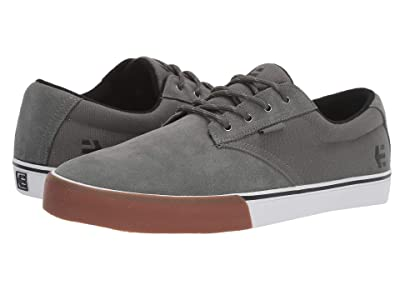 etnies Jameson Vulc (Dark Grey/White/Gum) Men