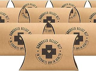 Bachelorette Party Hangover Kit Boxes | 10 Pack | Bachelorette Party Favor Boxes | Bachelorette Gifts | Bachelorette Hangover Kits