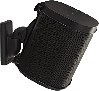 WSWM21B SANUS for Sonos One, Play1 & 3 Spks Single Black-Suits Most Brands Suits Sonos One, Play:1 and Play:3 & Other Wire...