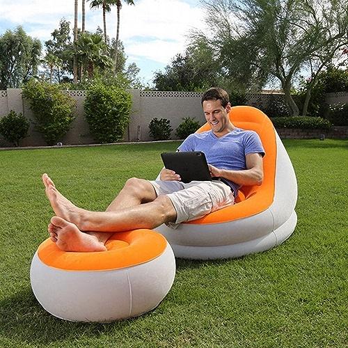 JY la Sofa Gonflable de Sofa de Suite de Sofa de Loisirs Paresseux Sofa Gonflable épais de Chambre à Air Deux