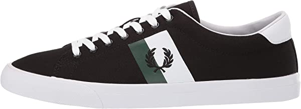 Fred Perry B4142 Fashion Shoes for Men - Color Black - size 46 EU