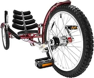 Mobo Shift 3-Wheel Recumbent Bicycle Trike. Reversible Adult Tricycle Bike