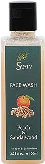 SVATV Face Wash :: Paraben & ammonia free :: Made in India (Peach & Sandalwood)