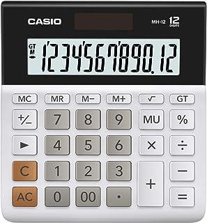 Casio MH-12 Wide Series Calculator, 0.125 kilograms