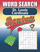 St. Louis Cardinals Word Search: Word Find Puzzle Book For All Redbird Fans