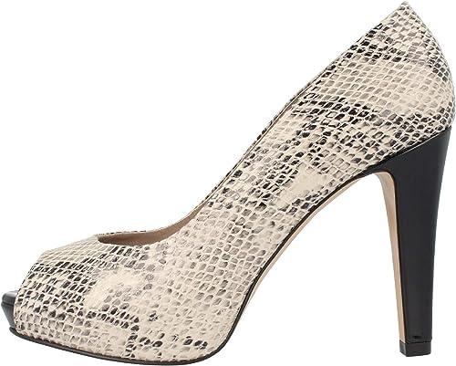 Salena, Zapato Peep Toes en Fantasia Serpiente, Größe 41