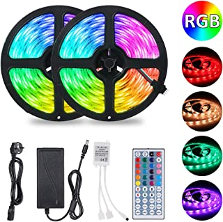 10M Tiras LED RGB 5050,Tomshine 300 LEDs Tiras LED de Luces