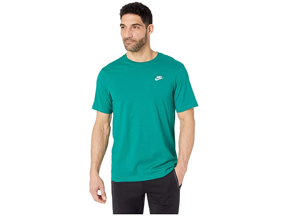 Nike NSW Club Tee (Mystic Green/Black) Men