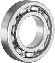 NSK 6206 Deep Groove Ball Bearing, Single Row, Open, Pressed Steel Cage, Normal Clearance, Metric, 30mm Bore, 62mm OD, 16mm Width, 11000rpm Maximum Rotational Speed, 2540lbf Static Load Capacity, 4384lbf Dynamic Load Capacity