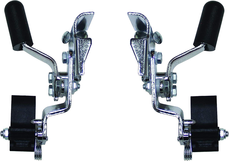 New Solutions Sitting Safe Wheelchair Anti Roll-Back Wheel Lock