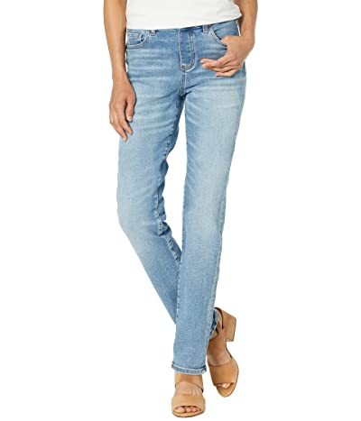 Jag Jeans Valentina Faux Fly Pull-On Straight Leg Jeans