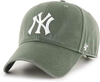'47 Forty Seven York Yankees Moss Legend MVP Curved Visor Strapback Cap MLB