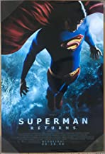 SUPERMAN RETURNS MOVIE POSTER 2 Sided ORIGINAL FINAL 27x40