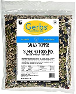 GERBS Superfood Snack Mix, 32 ounce Bag, Top 14 Food Allergy Free, Non GMO, Vegan, Preservative Free