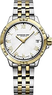 Women's Tango Quartz Watch with Two-Tone-Stainless-Steel Strap, 14 (Model: 5960-STP-00308)