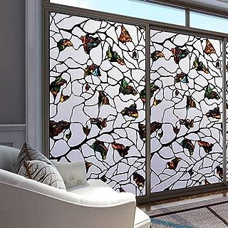 Occultant D/écoratif Intimit/é Vitre Stickers D/époli pour Salle De Bain Cuisine Film Electrostatique-UNE-40x100cm 16x39inch Opaque Film Fenetre