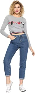 Kiki's Delivery Service Studio Ghibli Icon Stripes Long-Sleeve Girls T-Shirt