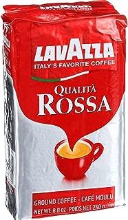 LavAzza Qualita Rossa Ground Coffee - Espresso, 8.8 Ounce -- 6 per case