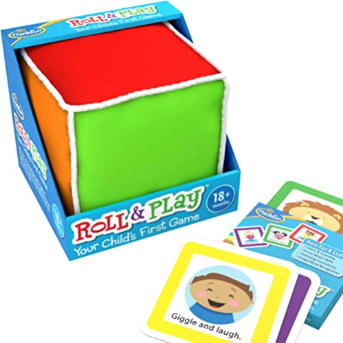 ThinkFun Roll and Play Game for Toddlers - Your Child's First Game! Award Winning and Fun Toddler Toy for Parents and...