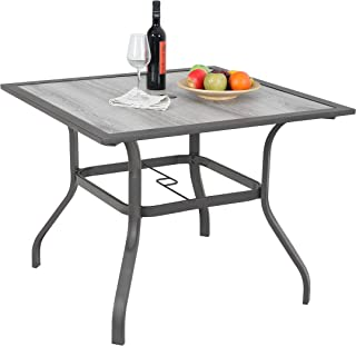 40 inch outdoor table