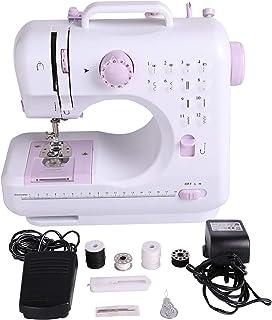 comprar comparacion Sfeomi Maquina de Coser Electrica 12 Puntadas Mini Maquina de Coser Portatil con Luz de LED Sewing Machine para Ropa, Fund...