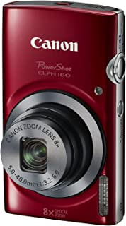 Canon PowerShot ELPH 160 (Red)